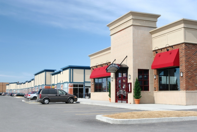 Stores and Restaurants Building Exteriors